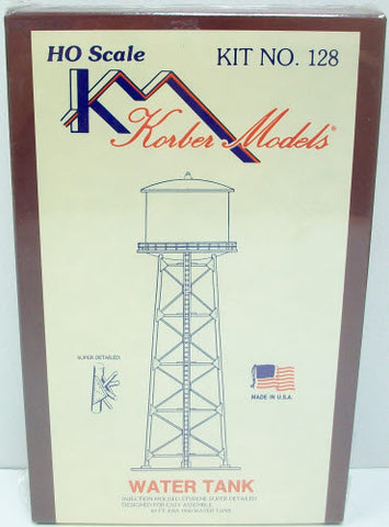 Korber 128 HO Scale Water Tower Building Kit