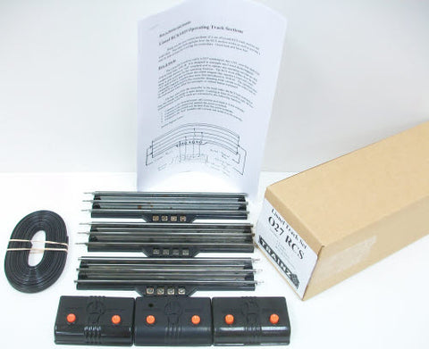 Lionel RCS O27 Gauge Remote Control Tracks  (Box of 3)