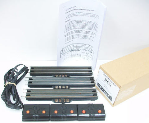 Lionel RCS O Gauge Remote Control Tracks  (Box of 3)