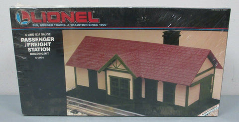 Lionel 12734 O Scale Passenger and Frieght Station Building Kit