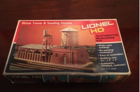 Lionel 5-4552 HO Water Tower & Sanding Station Building Kit