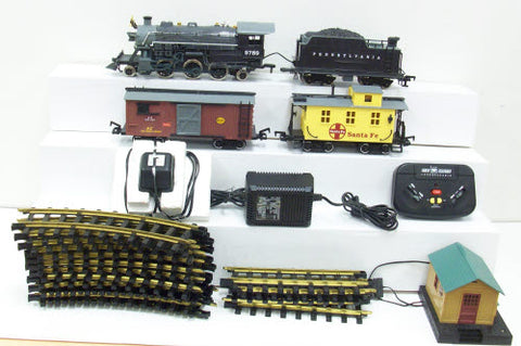 New Bright Steam Loco Set with Cars, Transformer and Track