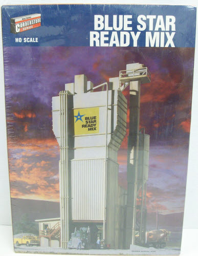 Walthers 933-3086 HO Scale Blue Star Ready Mix Building Kit