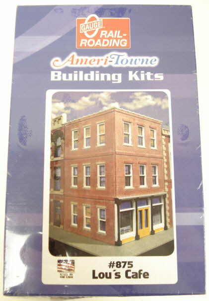 OGR 875 O Ameritowne Lou's Cafe Building Kit