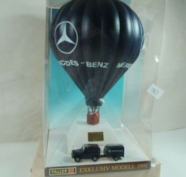 Faller 1000 HO Mercedes-Benz Hot Air Balloon