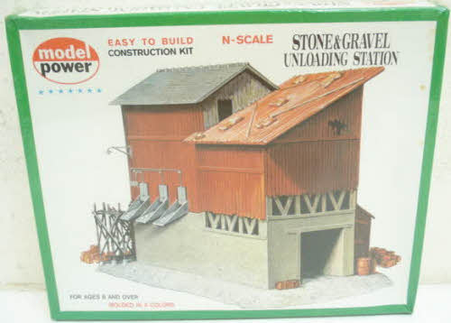 Model Power 1518 Stone & Gravel Unloading Station Building Kit