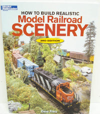 Kalmbach 12216 How To Build Model RR Scenery - 3rd Ed.