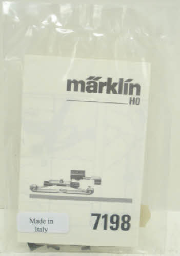 Marklin 7198 Pickup Shoe For 7077