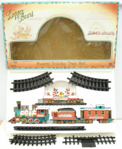 New Bright 181 The Logger Bears Express Train Set