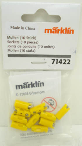 Marklin 71422 Yellow Sockets (Pack of 10)