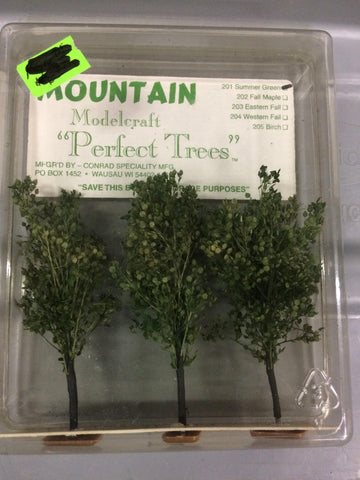 Mountain Modelcraft 201 N Summer Green Trees
