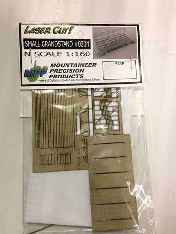 Mountaineer Precision Products 020 N Small Grandstand Laser Cut Kit