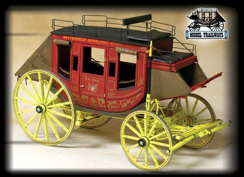 Model Shipways 6001 1:12 Concord Stagecoach