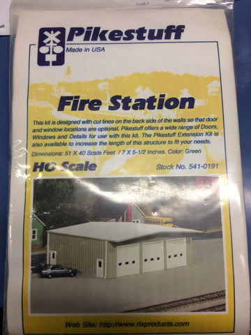 Pikestuff 541-0191 Firestation 50x40 Green Building Kit