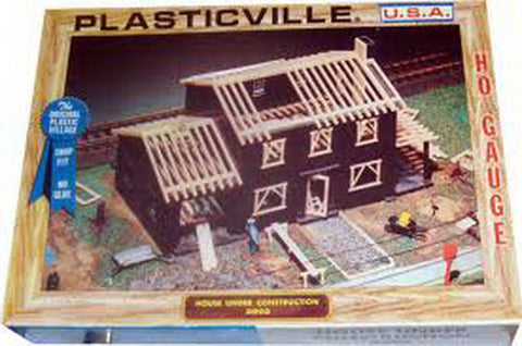 Plasticville 2803 House Under Construction