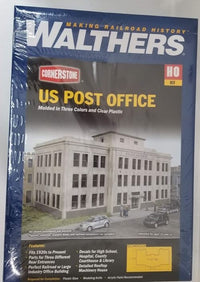 Walthers 933-3782 HO United States Post Office Building Kit