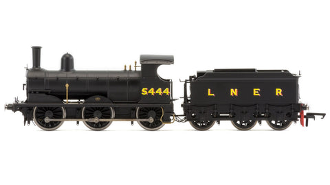 Hornby R3414 OO LNER Black 0-6-0 J15 Class Steam Locomotive #5444