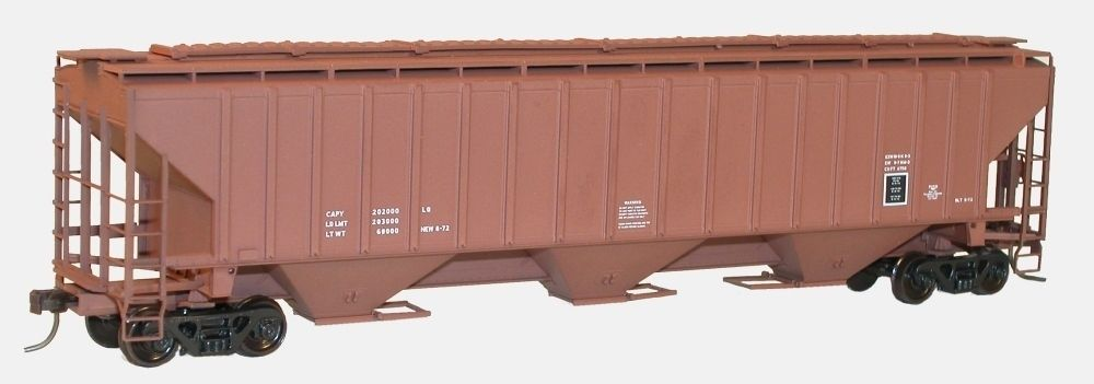 Accurail 6598 HO Data Only Mineral Red Pullman Standard 4750 Grain Hopper