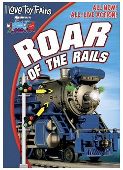 TM Books ILROAR I Love Toy Trains Roar of the Rails DVD