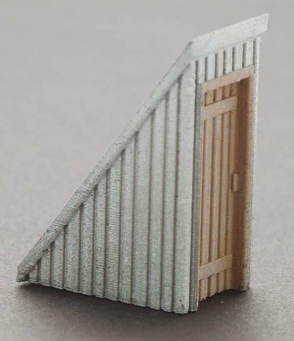 Bar Mills 02023 HO Rooftop Stairwells (Pack of 2)