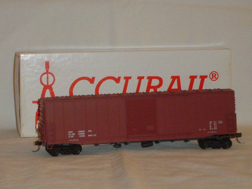 Accurail Inc 5799 HO Data Only 50 ft. Welded AAR Boxcar