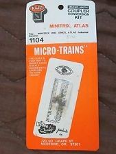 Micro Trains Line 489-130009 Locomotive Coupler Conversion Kits Trix Atlas #1104