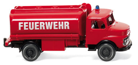 Wiking 86136 HO Mercedes-Benz Tanker Fire Service