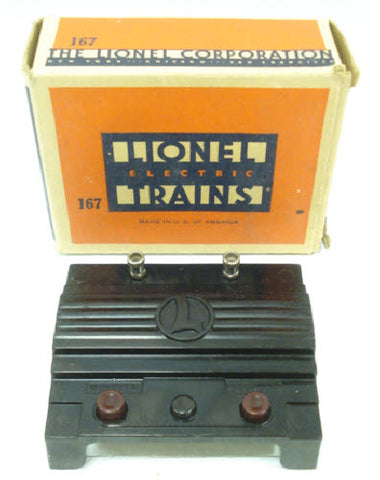 Lionel 167 Whistle Controller in Original Box