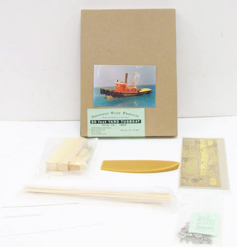 Sheepscot Scale Products 1191 HO 50' Yard Tugboat Kit