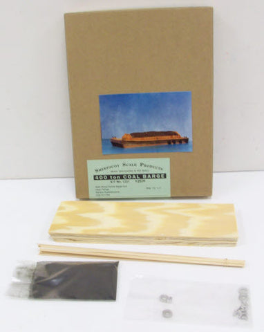 Sheepscot Scale Products 1221 HO 400T Coal Barge Kit