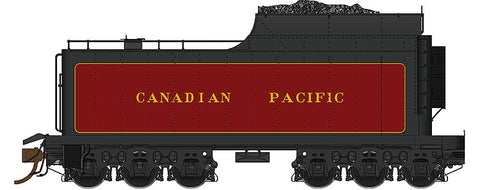 Rapido Trains 600092 HO Canadian Pacific 12,000 Gallon Coal Tender