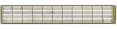 The N Scale Architect 50048 Photo Etched Fencing