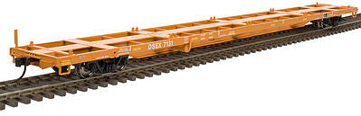 Atlas 50001074 N East Carbon 85' Trash Container Flatcar #7120