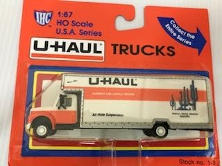 IHC 1-3 HO Arizona U-Haul 26' Moving Truck