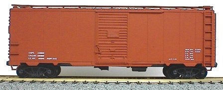 Accurail 3500 HO Scale Undecorated 40' AAR Steel Boxcar