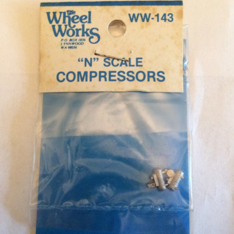 Wheel Works WW-143 N Metal Air Compressors (Pack of 2)