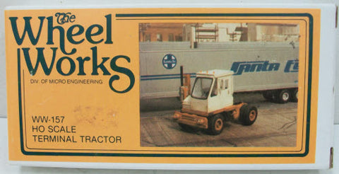 Wheel Works 96157 HO Scale Terminal Tractor
