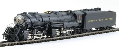 3rd Rail 3RY6 Sunset Mdl N&W Y-6a/Y-6b Steam Loco