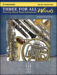 Three For All Winds - E-Flat Instruments