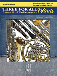 Three For All Winds - B-Flat Instruments