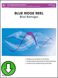 Blue Ridge Reel (Digital Download)