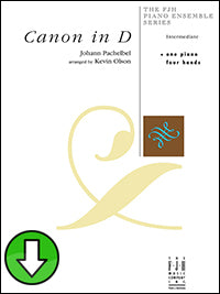 Canon in D (Digital Download)