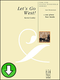 Let's Go West (Digital Download)