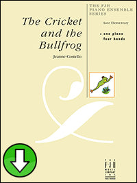 The Cricket and the Bullfrog (Digital Download)