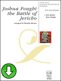 Joshua Fought The Battle of Jericho (Digital Download)
