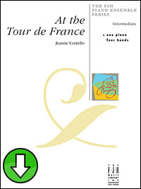 At the Tour de France (Digital Download)