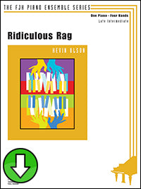 Ridiculous Rag (Digital Download)