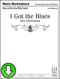 I Got the Blues (for Christmas) (Digital Download)