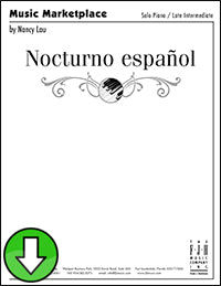 Nocturno español (Digital Download)