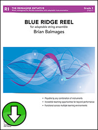 Blue Ridge Reel (For Adaptable String Ensemble) (Digital Download)